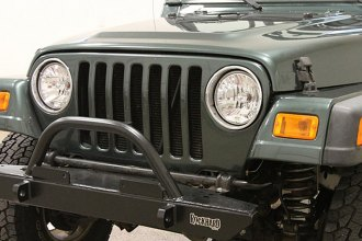 Rock Hard 4x4® - Narrow Width Legendary Front Bumper with Straight Up Hoop