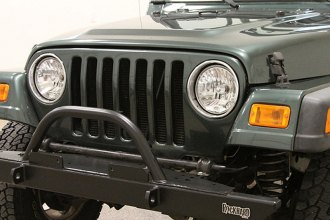Rock Hard 4x4® - Full Width Legendary Front Bumper with Straight Up Hoop