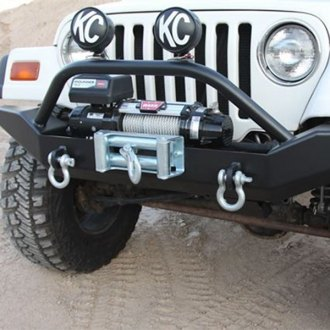 Rock Hard 4x4® - Aluminum Patriot Series Full Width Front Bumper
