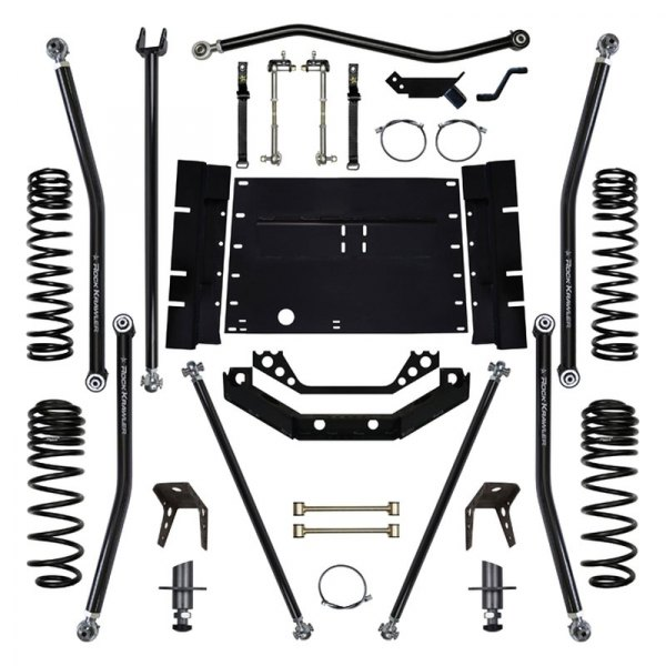 Rock Krawler® - X-Factor Long Arm Stage 0 Front and Rear Suspension Lift Kit