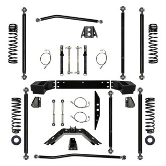 "Rock Krawler® - 3.5"" x 3.5"" Off-Road Pro Long Arm Front and Rear Suspension Lift Kit"