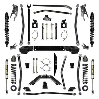 "Rock Krawler® - 4.5"" x 4.5"" X-Factor Coilover Long Arm Front and Rear Suspension Lift Kit"