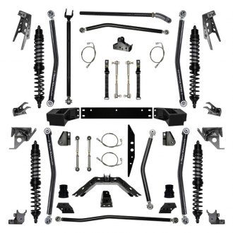 "Rock Krawler® - 4.5"" x 4.5"" Rock Runner Coilover Long Arm Front and Rear Suspension Lift Kit"