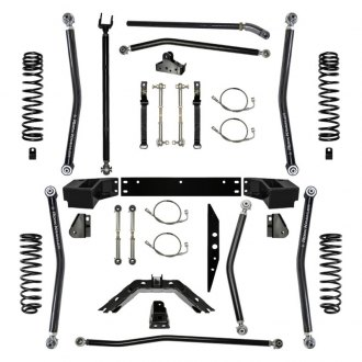 "Rock Krawler® - 4.5"" x 4.5"" X-Factor Long Arm Front and Rear Suspension Lift Kit"