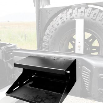 Rock Slide Engineering® - Textured Black Tailgate Table