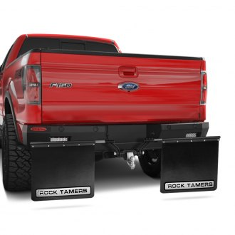 Rock Tamers® - Hitch Mounted Mud Flap System
