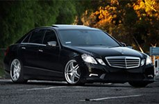 Roderick RW2 Wheels on Mercedes E350