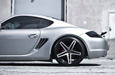Roderick RW5 Wheels on Porsche Cayman