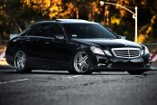 RODERICK® - RW2 Silver with SS Lip on Mercedes E Class