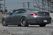 RODERICK® - RW3 Black with Machined Face and SS Lip on BMW 6-Series