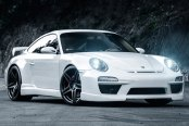RODERICK® - RW5 Matte Black on Porsche 997