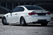 RODERICK® - RW6 Black with Brushed Face on BMW 3-Series