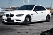 RODERICK® - RW6 Black with Machined Face on BMW 3-Series