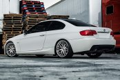 RODERICK® - RW6 Silver with SS Lip on BMW 3-Series
