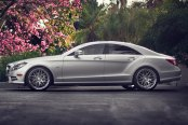 RODERICK® - RW6 Silver with SS Lip on Mercedes CL Class