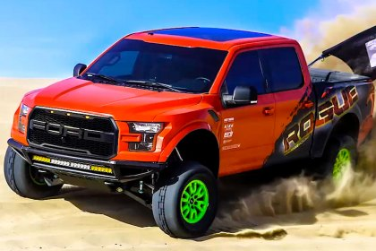 Rogue Racing® Dumont Sand Dunes Rogue Racing 2015 Ford F150 Stage 16 Suspension (Full HD)