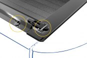 Roll-N-Lock® - A-Series™ Retractable Tonneau Cover, Locking System