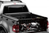 Image may not reflect your exact vehicle! Roll-N-Lock® - M-Series™ Retractable Tonneau Cover with Cargo Manager™