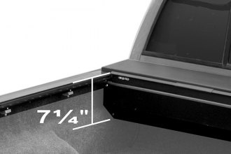 ROLL-N-LOCK� - M-Series� Retractable Tonneau Cover, Compact Housing And Flush Handle