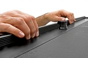 Roll-N-Lock® - M-Series™ Retractable Tonneau Cover, Finger Insulator Grip