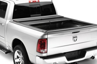 Image may not reflect your exact vehicle! ROLL-N-LOCK� - M-Series� Retractable Tonneau Cover, Opened
