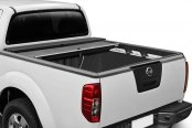 Roll-N-Lock® - M-Series™ Retractable Tonneau Cover, Mid Opened