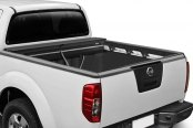 Roll-N-Lock® - M-Series™ Retractable Tonneau Cover, Opened