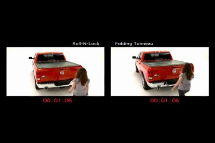 Roll-N-Lock® M-Series™ vs Folding Tonneau Cover