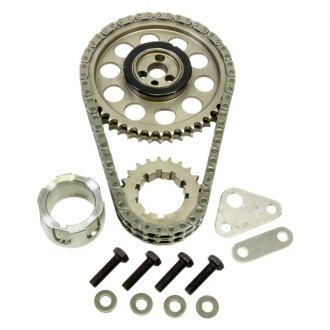 Rollmaster® - Gold Series Double Billet Roller Timing Set with Nitrided Sprocket and Torrington Bearing
