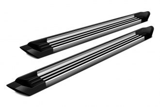 Romik® 72381308 - RCV Series Silver Running Boards