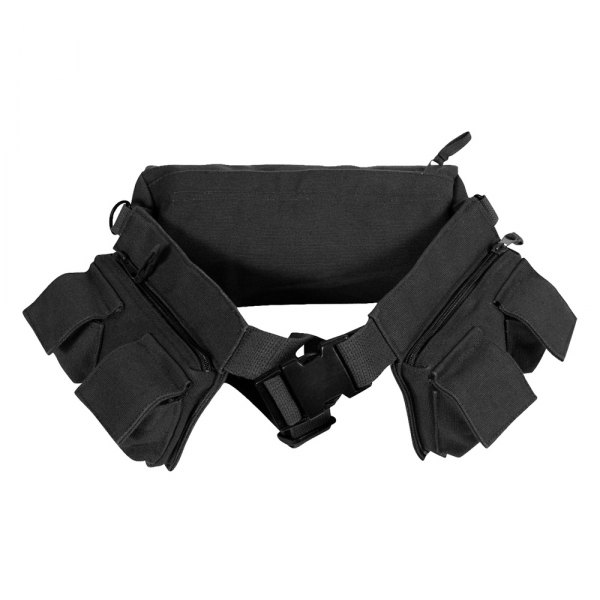 Rothco® - Black Canvas 7 Pocket Fanny Pack