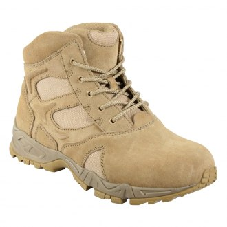 "Rothco® - 6"" Forced Entry Desert Tan Deployment Boot"