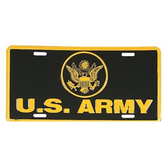 Rothco® - License Plate with US Army