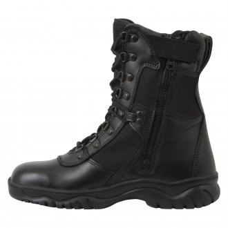 "Rothco® - 8"" Forced Entry Tactical Boots with Side Zipper"