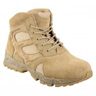 "Rothco® - 6"" Forced Entry Desert Tan Deployment Boots"