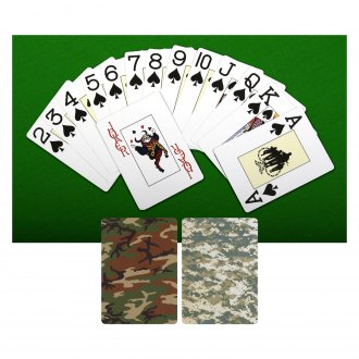Rothco® - Woodland Camo Playing Cards