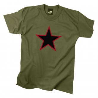 Rothco® - Red China Star T-Shirt