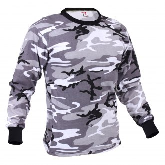 Rothco® - Long Sleeve Colored Camo T-Shirt