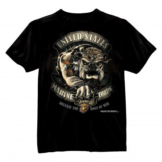 Rothco® - Black Ink™ U.S.M.C. Bulldog T-Shirt