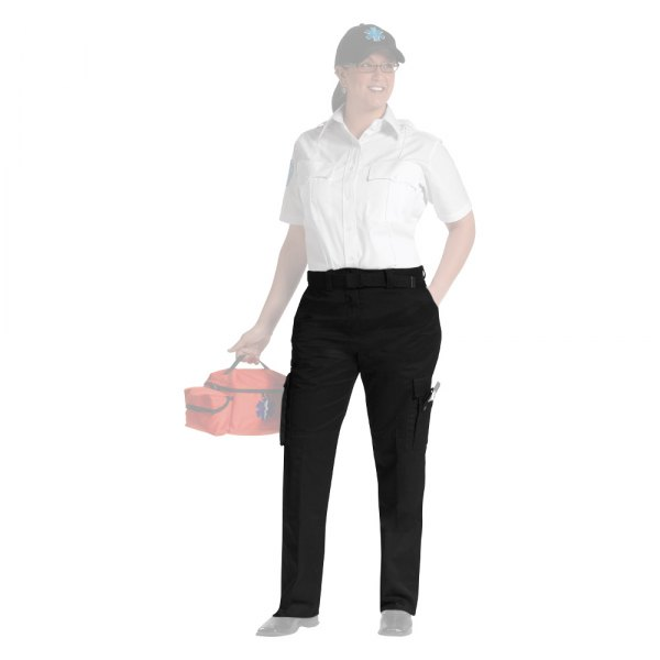 Cool EMT EMS Women39s 9 Pocket Duty Pants Black Sizes 222  EBay