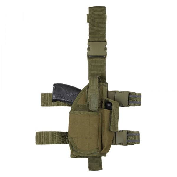 Rothco® - Olive Drab Deluxe Adjustable Drop Leg Tactical Holster