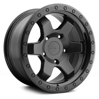 ROTIFORM® - SIX OFFROAD Matte Black with Gloss Black Face and Bead Ring
