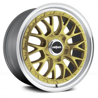 ROTIFORM® - LSR Silver with Gold Face