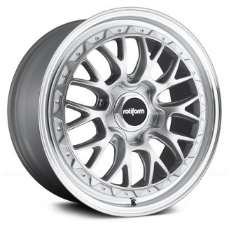 ROTIFORM® - LSR Silver with Machined Face
