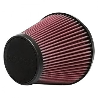 ROUSH Performance® - Replacement Round Tapered Red Air Filter