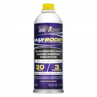Royal Purple® - Max-Boost™ 16 oz Octane Booster & Fuel System Stabilizer Bottle