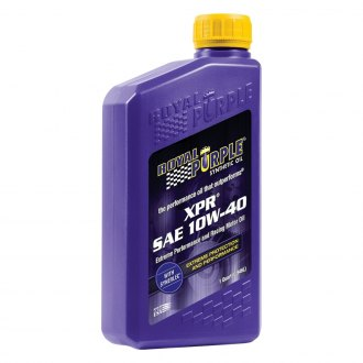 Royal Purple® - SAE 10W-40 XPR™ Multi-Grade Extreme Performance Racing Motor Oil 1-Qt. Bottle
