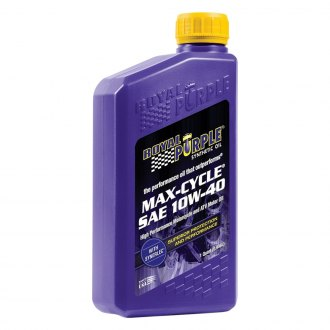 Royal Purple® - SAE 10W-40 Max-Cycle™ Synthetic Motorcycle Engine Oil 1 Quart Bottle