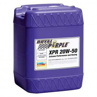 Royal Purple® - SAE 20W-50 XPR™ Multi-Grade Extreme Performance Racing Motor Oil 5-Gal. Pail