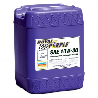 Royal Purple® - SAE 10W-30 API-Licensed Multi-Grade High Performance Motor Oil 5-Gal. Pail